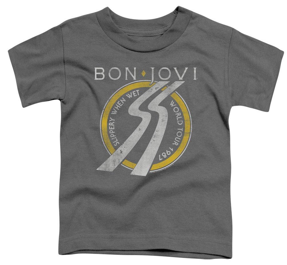 Bon Jovi T Shirt Slippery When Wet 87 Tour T 4959