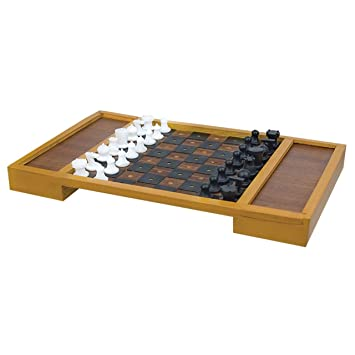 Large Table Top Chess Set for the Blind or Those With Low Vision  sc 1 st  Amazon.com & Amazon.com: Large Table Top Chess Set for the Blind or Those With ...