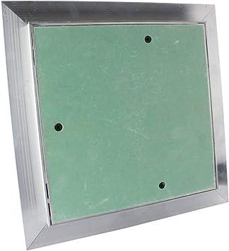 VONLIS/® 150 x 150 mm Wartungs Inspektionsklappe Revisionsklappe GK-Einlage Feuchtraum Gipskarton Alu