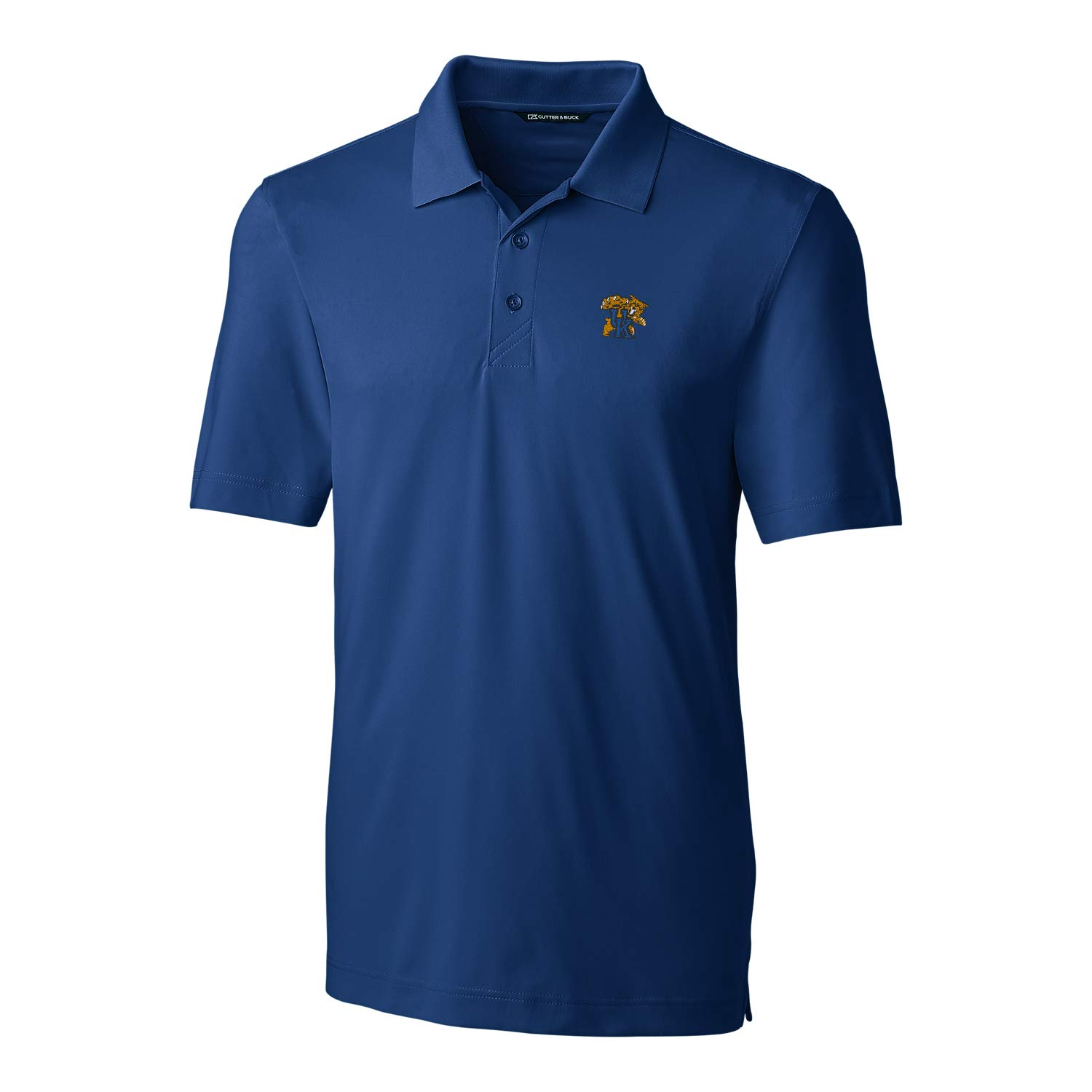 NCAA Kentucky Wildcats Short Sleeve Solid Forge Polo 3X-Large Tour Blue