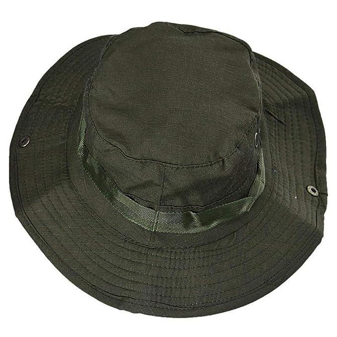 Cubo Sombrero De Los Hombres De Camping Las Ocasional Señoras Cap Hat Caza Pesca Paraguas Outdoor
