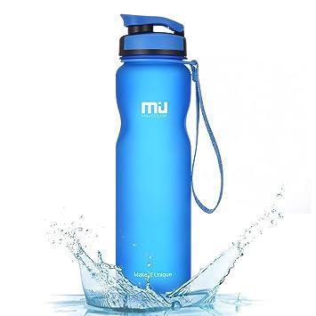 Deporte botella de agua – Martillo (1L), Miu Color a prueba de goteo