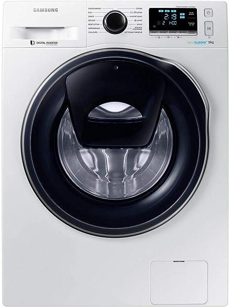 Samsung - Lavadora de carga frontal WW 90 K 6414 QW: Amazon.es ...