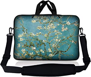 LSS 10 10.2 inch Laptop Sleeve Bag Compatible with Acer, Asus, Dell, HP, Sony, MacBook and more   Carrying Case Pouch w/ Handle & Adjustable Shoulder Strap