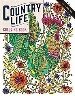 Amazon Country Life Coloring Book 9781612128849 Caitlin