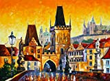 Prague Old City is a Limited Edition print from the Edition of 400. The artwork is a hand-embellished, signed and numbered Giclee on Unstretched Canvas by Leonid Afremov. Embellishment on each of these pieces will be slightly different, but the image...