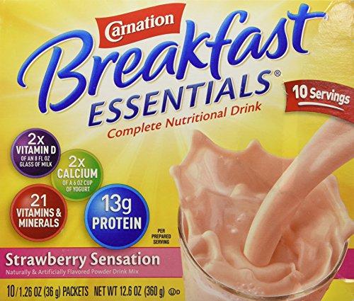 Essentials Strawberry Sensations Complete Nutritional Drink 12.6 oz ()