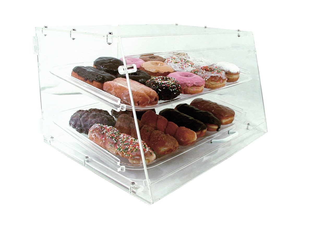 COMMERCIAL ACRYLIC BAKERY PASTRY 2 TRAY DISPLAY CASE by Update International 61wrIHIw5QL._SL1200_