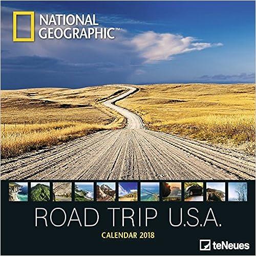 National Geographic Road Trip USA 2018 Broschuerenkalender B01MS1KBEX
