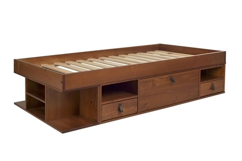 Memomad Funktionsbett Bali 90x190 Viel Stauraum, Schubladen, Preis ...