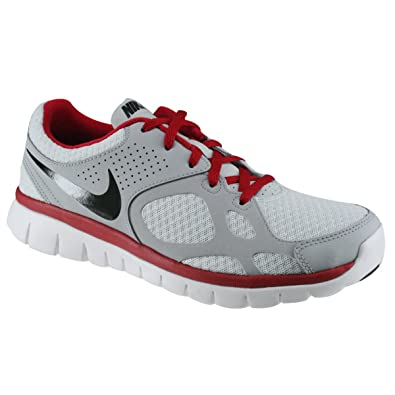 fbffdfb711d8 Image Unavailable. Image not available for. Color  Nike Flex 2012 RN grey   red ...