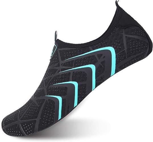 Amazon.com: L-RUN - Zapatos de agua unisex para correr ...
