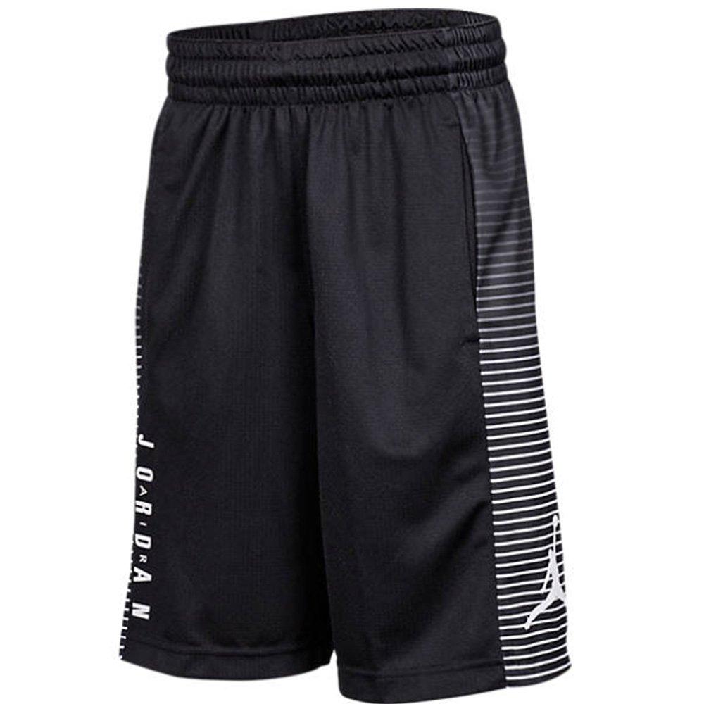 Air Jordan Boys Game Basketball Shorts (Black, Small)