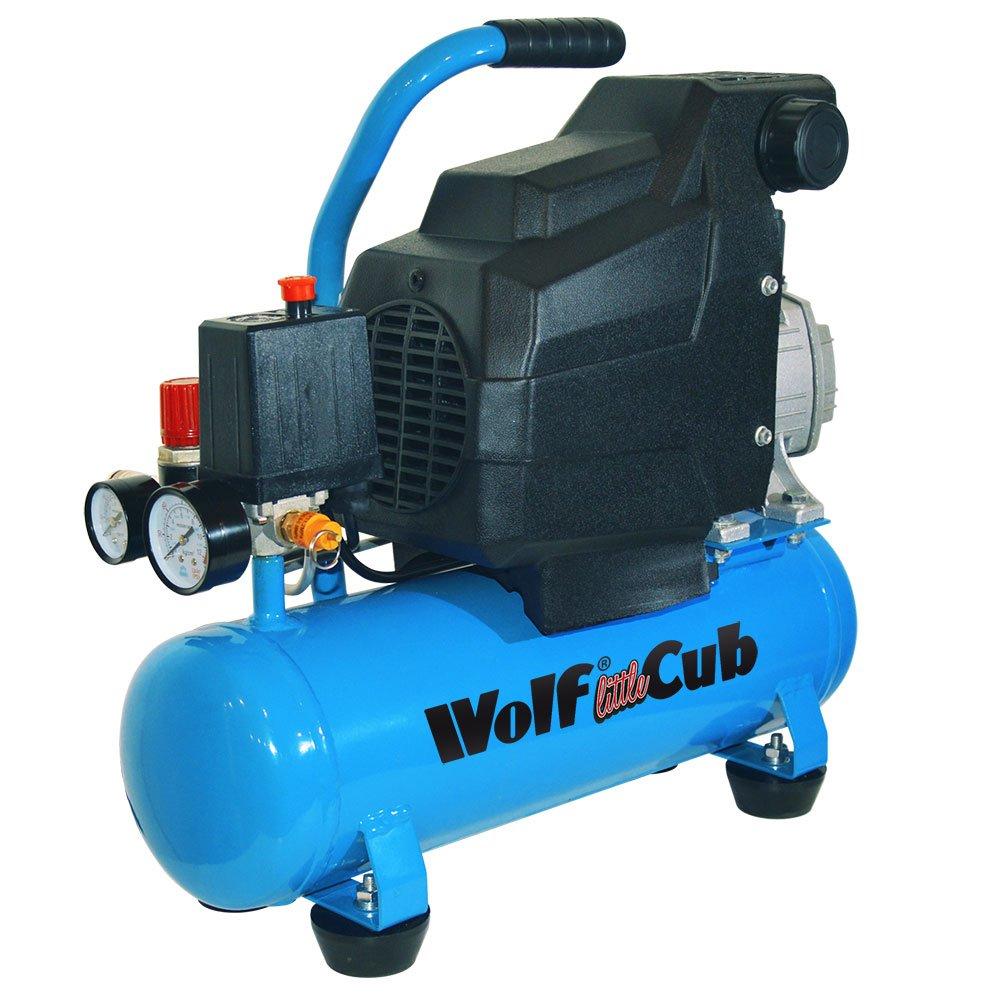 1,5 HP 6 litros fanfarronear 7CFM 116psi aceite lubricado compresor de aire: Amazon.es: Bricolaje y herramientas