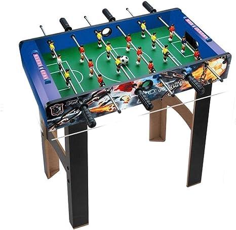 MGIZLJJ Futbolin Juego de fútbol de Mesa de futbolín for niños y ...