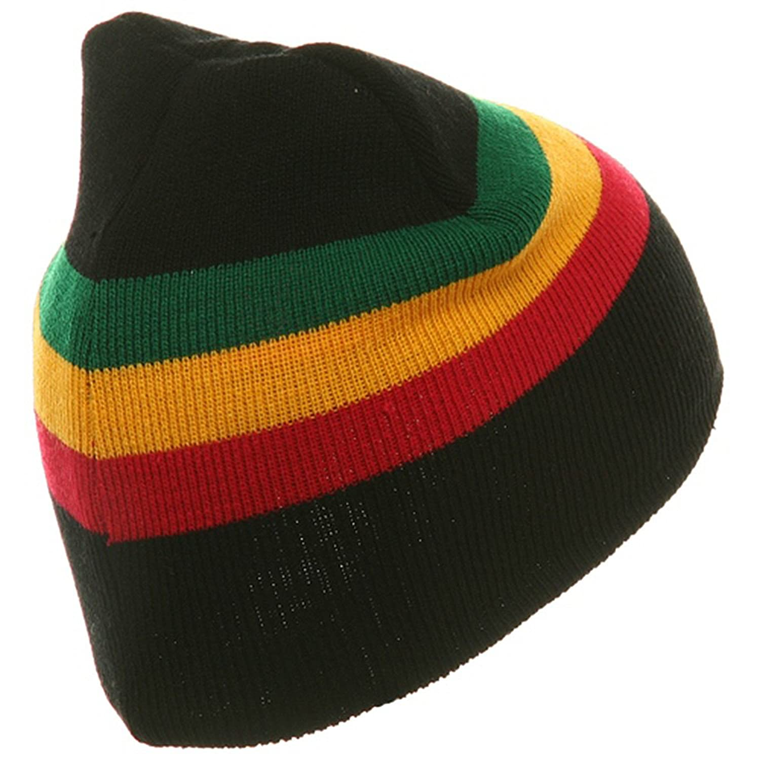 659be9e5 Rasta Beanie-Black Lion W28S16C: Amazon.in: Clothing & Accessories