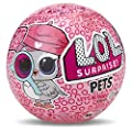 LOL Surprise Dolls Bundle Includes (1) New Eye Spy Pets + (1) Lil Sister Series 4 + (9) Shopkins Stickers with Compatible Toy Storage Bag!