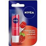 Nivea Lip Care, Fruity Shine Strawberry, 4.8g