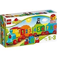 LEGO 10847 DUPLO Getallentrein, Treinspeelgoed met Getallen en Kleurrijke Stenen, Educatief Speelgoed voor Peuters van 1…