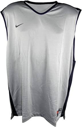 Nike Hombres PARIS reversible sin mangas de la camiseta 3XL Gris Plata: Amazon.es: Ropa y accesorios