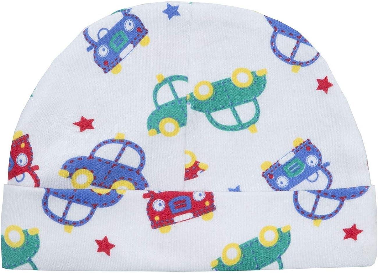 Style It Up Babies Baby Boys Sleepsuit Bib Hat Babygrow All in One Newborn Gift 3pc Set Cute