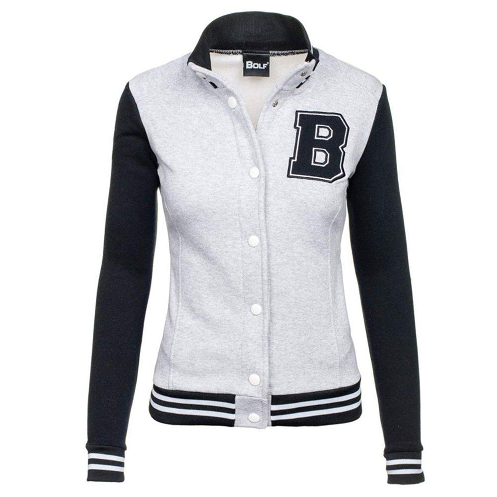 JY Official Same Baseball Hoodie Sweater//New Ladies Womens Plain Hoodie With Button Sweatshirt Jacket Coat