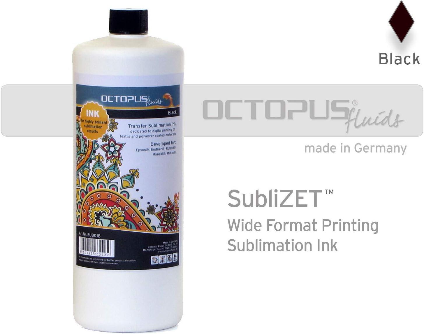 1 litro Tinta de sublimación compatible con Epson, Brother, Roland, Mimaki, magenta: Amazon.es: Oficina y papelería