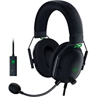 Razer BlackShark V2 Gaming Headset: THX 7.1 Spatial Surround Sound - 50mm Drivers - Detachable Mic - PC, PS4, PS5…