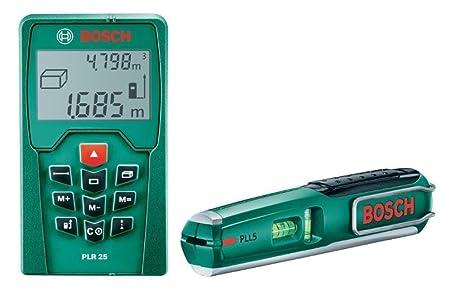 Bosch Entfernungsmesser Plr 25 : Bosch b plr digitaler laser entfernungsmesser und pll