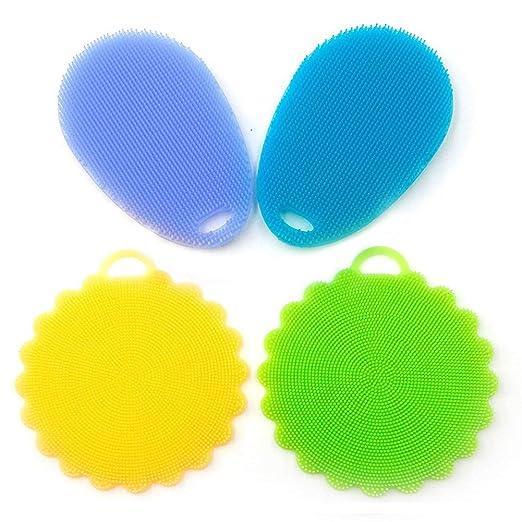 Rocita - Esponjas de Limpieza para lavavajillas (Silicona, sin ...
