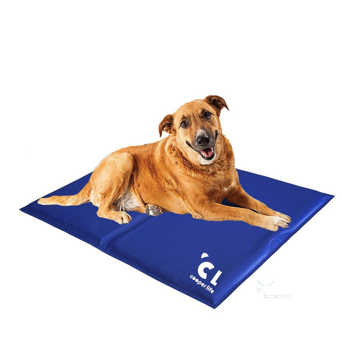 Cooper life Self Cooling Gel Pet Mat,Summer Sleep Cooling Mat/Pad with Easy to Clean,Non-Toxic——Prevent Overheating and Dehydration for Dogs,Cats&Pets. Perfect for Bed,Chair,Floor, Couch& Kennel (L) by Cooper life (Image #7)