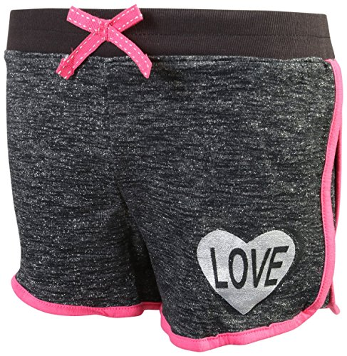 Real Love Girl's 4-Piece French Terry Short Sets, Live Love Shine, Size 5/6' by Real Love (Image #2)
