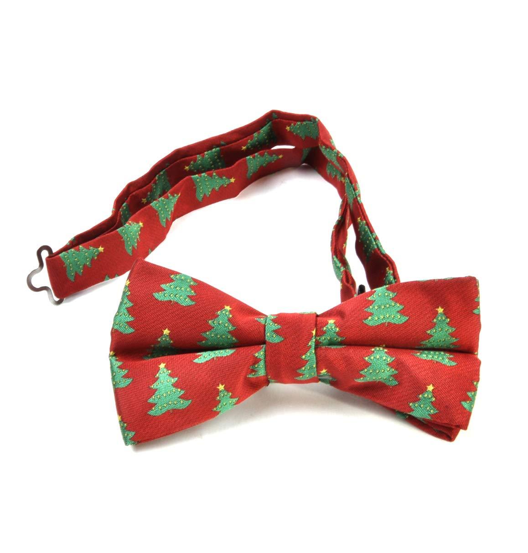 St George Christmas Tree Bow Tie Dresswear