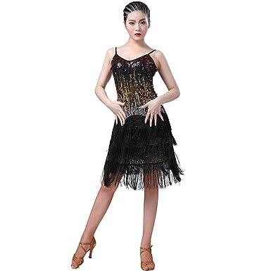 Salón de Baile para Mujer Salsa Samba Rumba Tango Borla ...