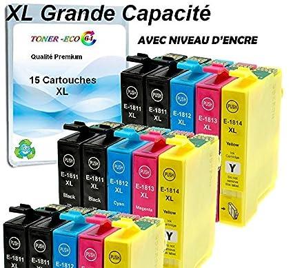 XL 15 cartuchos, gran capacidad, Cartucho de tinta compatibles con ...