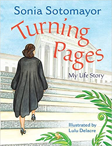 Image result for turning pages sonia sotomayor amazon