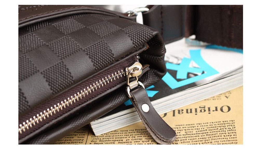 Top Mens Leather Crossbody Messenger Shoulder Bags Handbag Satchel Casual Day Bag #GOAS