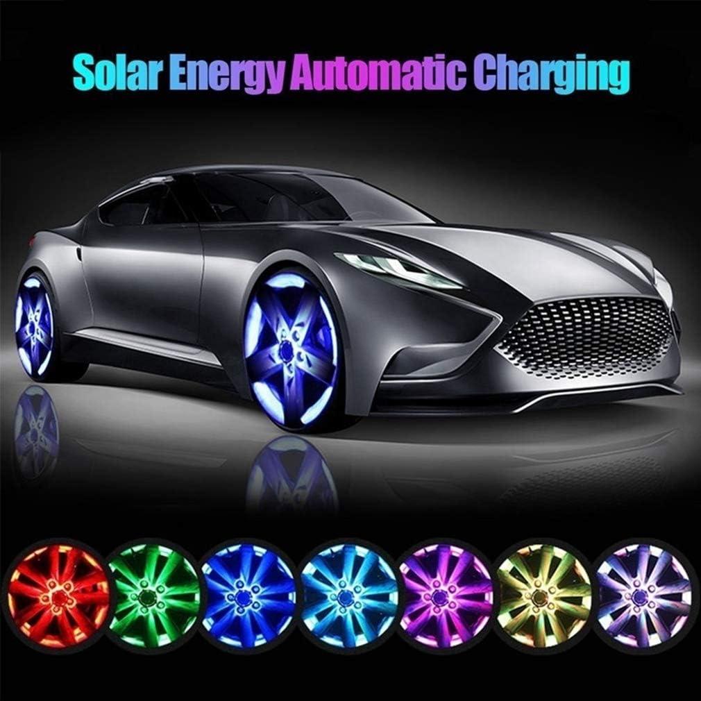 Felgen Reifen Led Felgenbeleuchtung Reifenlichter wasserdichte Led felgen Beleuchtung Kairuun Solarenergie Auto Blinklicht