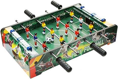softneco Mini Futbolín Mesa De Madera De Juego,Portátil Fútbol ...