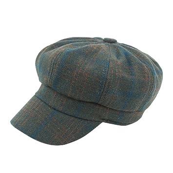 Sannysis Sombreros Hombre Mujer Invierno, Sombrero de Copa Cowboy Gorras Hombre Invierno Beisbol Gorro de algodón, Sombreros Mujer Fiesta (Verde): ...