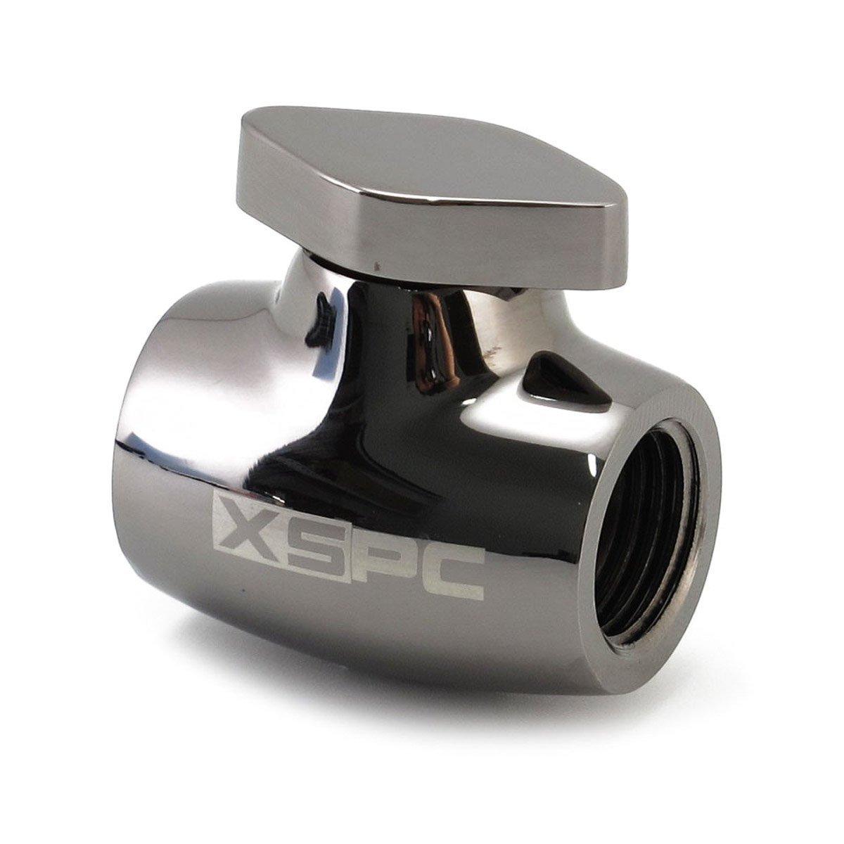 XSPC G1/4'' Ball Valve, Black Chrome