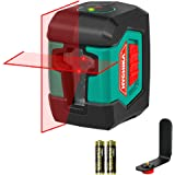 Laser Level, HYCHIKA 50 Feet Line Laser with Dual Modules, Switchable Self-Leveling Vertical and Horizontal Line…