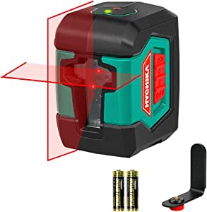Laser Level, HYCHIKA 50 Feet Line Laser with Dual Modules, Switchable Self-Leveling Vertical and Horizontal Line Construction Picture Hanging