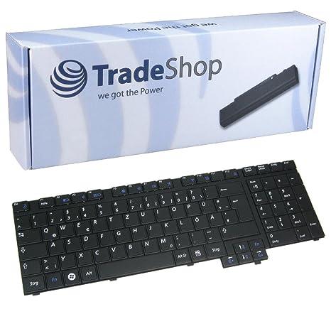 Original Samsung Teclado de ordenador portátil/Notebook Keyboard Intercambio Alemán QWERTZ de repuesto para Samsung