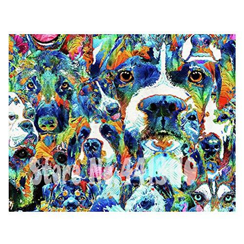 CNIAO Jack Russell Terrier,Full Diamond Embroidery,Animal,Dog,5d Diamond Painting,Cross Stitch,Diamond Mosaic,Pattern,Christmas gifts-30x40cm