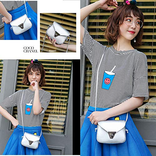 2018 Metal Wild S Mini Of Package The Bag Lock Cute Bag Silver Cross Shoulder CHARMA New Version Diagonal gnqxAq75