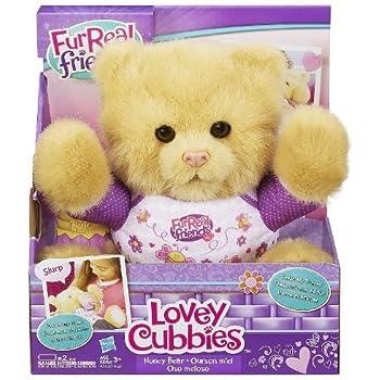Amazon Com Furreal Friends Lovey Cubbies Honey Bear By