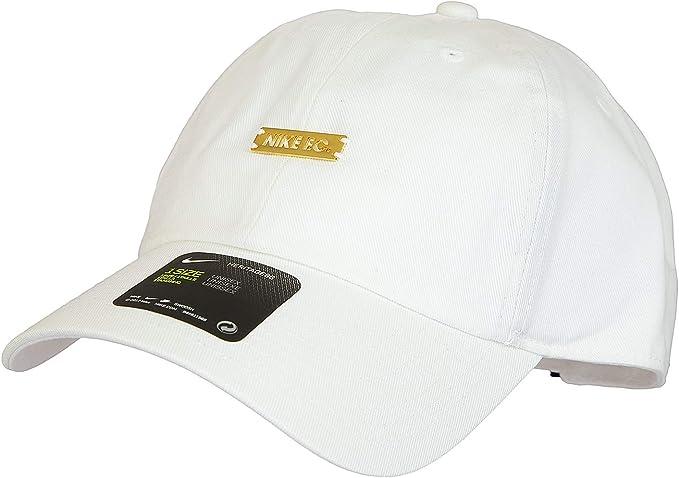Nike - Gorra de béisbol - para hombre White/Gold Talla única ...