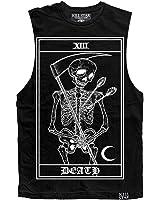 Unisex Killstar Death Card Tank Top Black
