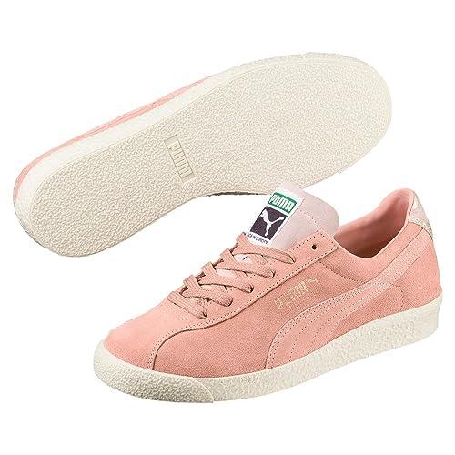 Puma Te-KU Suede Mujer Zapatillas Rosa: Amazon.es: Zapatos y complementos